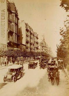 1890's Buenos Aires. Avenida de Mayo