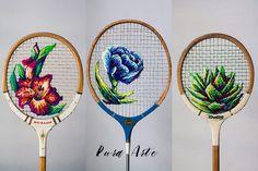 Arte na raquete