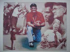 Ohio State Buckeyes Head Coach Woody Hayes Art Print