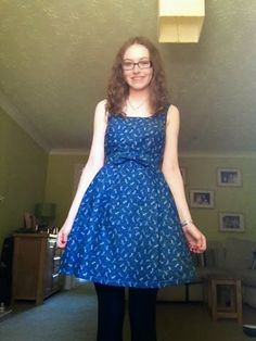 Love at First Stitch, One Make a Month: July, the Lilou Dress