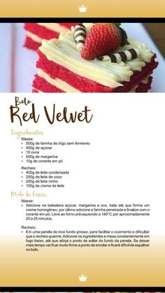 Bolo Red Velvet, Waffles, Cheesecake, Breakfast, Desserts, Recipes, Food, Healthy Banana Cakes, Sweet Like Candy