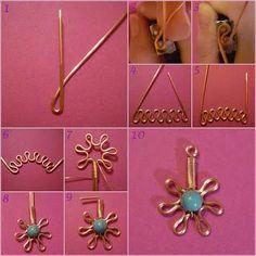 DIY Wire Necklace  : DIY wire Necklace