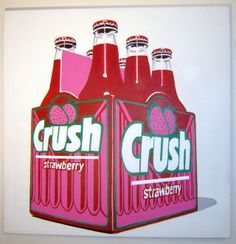 Strawberry Crush Soda- I can't get enough of this.  With Nick it was strawberry Quick, now it is strawberry pop.  Mmmm....