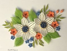 Image may contain: plant Quilling Flowers, Quilling Cards, Paper Quilling, Paper Art, Paper Crafts, Quilled Creations, Quilling Techniques, Quilling Designs, Flower Art