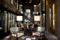 The Wine and Cigar Library