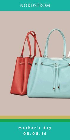 You can't go wrong with a Kate Spade handbag for mom this Mother's Day.  Pretty pastels are perfect for spring!