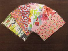 Excited to share this item from my #etsy shop: Laminated Cash Envelopes - Flowers  #flowers #cashenvelopes #budgeting #debtfree