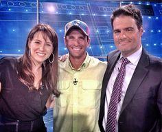 Henrique Capriles Radonski en el programa nocturno de Luis Chataing. Erika De La Vega también estuvo allí para conducir la entrevista :)
