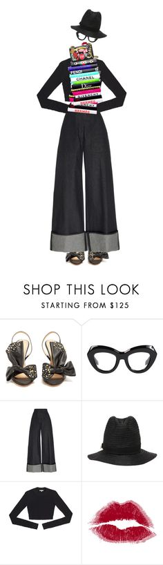 """IT!"" by maria-laura-correa-da-silva ❤ liked on Polyvore featuring Charlotte Olympia, Martin Grant, Dsquared2 and Moschino"