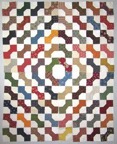 Kathy's Quilts: Bowtie Block Quilt