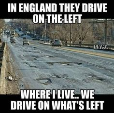 England vs Where I Live - Funny Memes : Best collection of funniest memes around the world. Updated everyday so you'll always have fresh stock of funny memes. 9gag Funny, Stupid Funny Memes, Funny Texts, Funny Stuff, Super Funny, Really Funny, Ohio Memes, Oklahoma Memes, Jokes