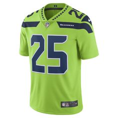 Nike NFL Seattle Seahawks Color Rush Limited (Richard Sherman) Men's Football Jersey Size Small (Green)