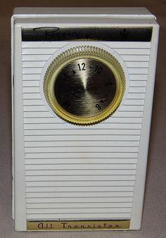 Regency 4-Transistor AM Radio, Model TR-11, Made in USA, Circa 1959.