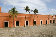 San Juan de Ulua custom warehouses,  created as a defending fortress and customs since the arrival of spaniards to Mexico, itas was also used as a prison on more recent times  actually its empty and