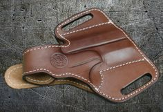 "This is a thumb break leather holster for your Bond Arms Derringer.  Bond's very comfortable ""Thumb Break"" belt slide features twin belt slots for an extremely close and comfortable ride."