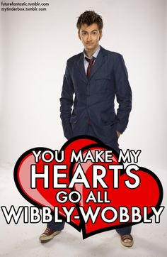Doctor Who valentine card