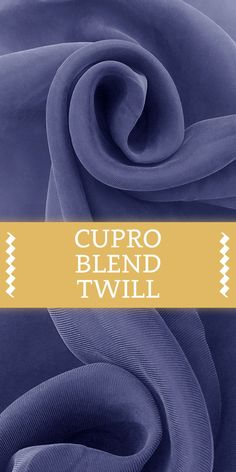 Cupro and Viscose Blend Soft Twill in Denim Different Types Of Fabric, Kinds Of Fabric, Fabric Board, B And J Fabrics, Fabric Names, Fabric Swatches, Fashion Fabric, Dressmaking, Birthday Wishes