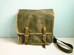 Vintage military bag.