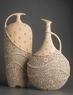 Avital Sheffer – Ceramic Art Avital Sheffer – Ceramic Art Dirk Staschke – American Museum of Ceramic ArtPesce rosso – Handmade Art Ceramic, ArtPortacandele Magic House Ceramic Art Sculpture Cu Ceramic Clay, Ceramic Vase, Pottery Vase, Ceramic Pottery, Slab Pottery, Earthenware, Stoneware, Cerámica Ideas, Banksy Graffiti