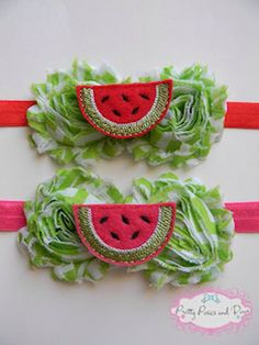 Cute watermelon headband