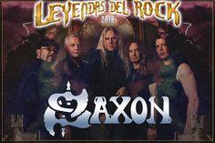 El festival Leyendas del Rock, Villena, Alicante, anuncia para us edición de 2018 la inclusión de SAXON en el cartel Comunicado oficial: Leyendas del Rock se enorgullece de presentar a los ingleses SAXON. Pioneros de la New Wave Of British Heavy Metal, junto con Iron Maiden y Def Leppard entre o...