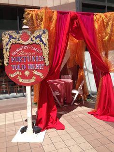 Vintage Fortune Teller Tent