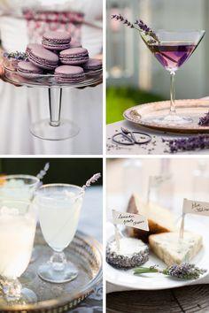 Lavender Wedding Ideas, Decor, Cakes & Favours   www.onefabday.com