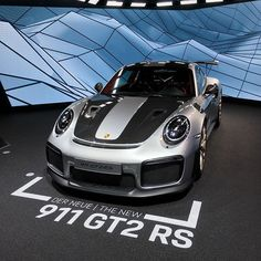 Actually, it's quite nice. #Porsche #Porsche911 #GT2RS #GT2 #RS #Flat6 #Turbo #Turbocharged #Power #Engine #Weissach #Carbon #SuperCar #Spoiler #Car #CarPorn #CarPic #CarsofInstagram #IAA #Frankfurt #Racing