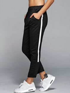 SHARE & Get it FREE | High Waisted Side Stripe Sporty PantsFor Fashion Lovers only:80,000+ Items • New Arrivals Daily Join Zaful: Get YOUR $50 NOW!