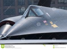 Photo about Close up of Blackbird spy plane nose. Image of supersonic, airport, test - 20604213 Stealth Technology, Blackbirds, Cold War, Jets, Airplanes, Nasa, Futuristic, Air Force, Aviation