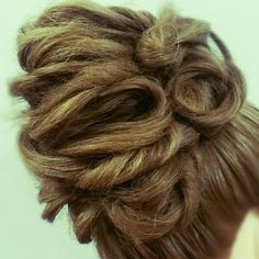 Wedding hair bridal hair Asthecurlturns.com Facebook.com/victoryroll  Doordye-sj.com