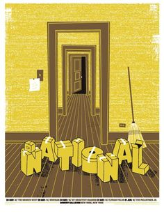 The National + 40 other awesome Concert Posters