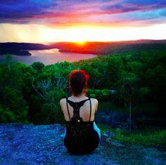 #sunset #Yaxha #Guatemala