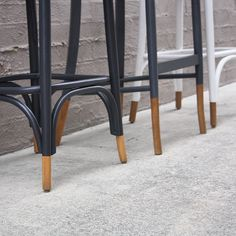 """Timber toes #furniturerestoration #recycledfinds #restoredfurniture #bentwood #brisbane #blakeandtaylor #womenwhodiy #qld #etsy #dtll #stools #sustainable"""