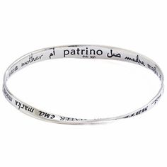 "No matter how you say it, ""mom"" has the same meaning in every language and there are 32 on this pretty bracelet... how unique!"