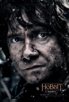 Character poster of Bilbo Baggins for The Hobbit: The Battle of the Five Armies.