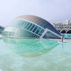 Arch of knowledge. #architecture #Hemisferic #Valencia #Spain #españa