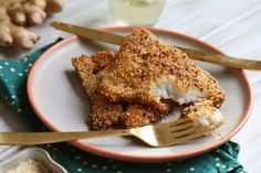 Sesame-Crusted Fish with Butter & Ginger Sauce: Recipe from NYTimes Cooking