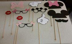 Topolino e Minnie Mouse Photo Booth Props