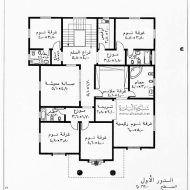 خرائط منازل ليبية Architectural House Plans House Floor Design