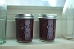 """Raspberry Jalapeno Jam - I LOVE this...super easy to make & not overly sweet, the way I like raspberry jam. I also substitute a high end ground Chipotle spice (I like Williams Sonoma's) for the jalapeno.  Chipotle adds a good """"bite"""" and smokiness to the raspberry."""