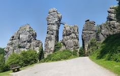 20 natuurwonderen in Duitsland - Reizen - Knack Weekend Secret Escapes, Germany Travel, Holiday Destinations, Holiday Travel, Places To See, Mount Rushmore, Road Trip, Grand Canyon, To Go