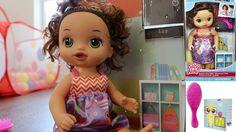Baby Alive - Ready For School Toy Review -  Bebé Vivo Listo Para La Escuela