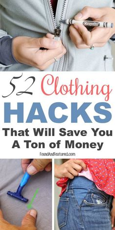 These 9 clothing hacks and tips are THE BEST! I'm so glad I found this AWESOME post! Now I can save money and keep my favorite outfits! Definitely pinning for later!