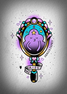 LSP from Adventure Time old school style