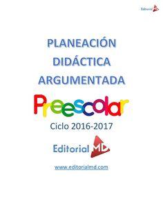 Ejemplo planeación didáctica argumentada preescolar