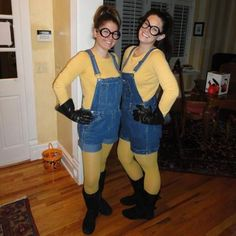 Pull apart your wardrobe and DIY your Halloween costume this year - because who needs to spend hundreds on a costume you already have lying around? Why not DIY a minion Halloween Costume?