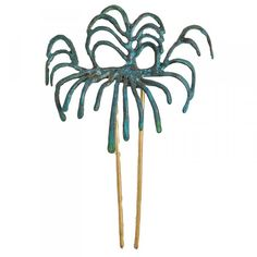 Pincho para el pelo Palmera de Dufy Raoul Dufy, Museum Shop, Hairpin, Palm Trees, Flower Arrangements, Hair Accessories, Leaves, Culture, Printed
