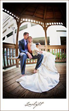 Lido Beach Resort, bride and groom, gazebo, beach, Wedding, Limelight Photography www.stepintothelimelight.com