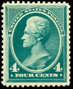 Andrew Jackson2 1883 Issue-4c - U.S. presidents on U.S. postage stamps - Wikipedia, the free encyclopedia